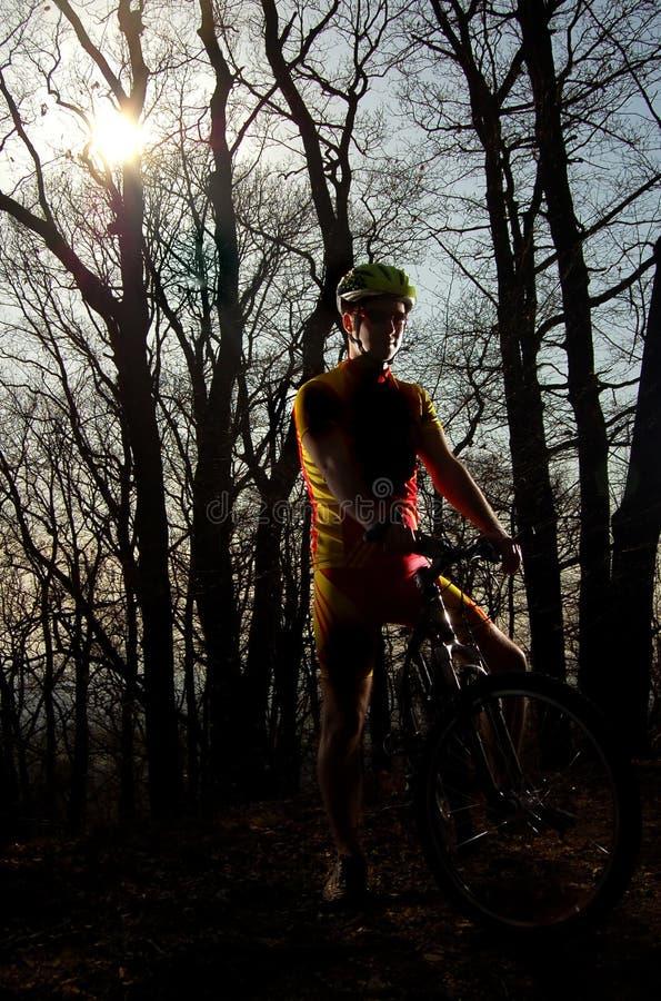El Biking fotografía de archivo libre de regalías