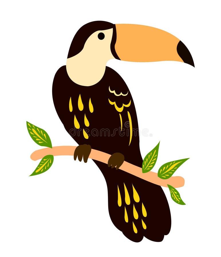 EL BIRDY HERMOSO ilustración del vector