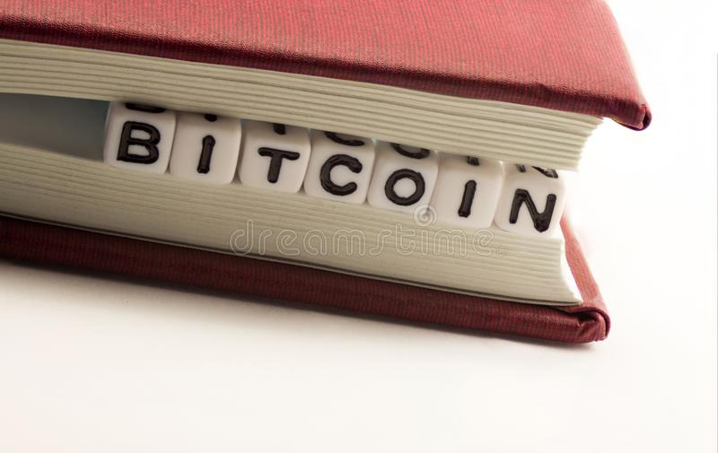 Download El Bitcoin De La Palabra En Medio Imagen de archivo - Imagen de mining, fondo: 100527881