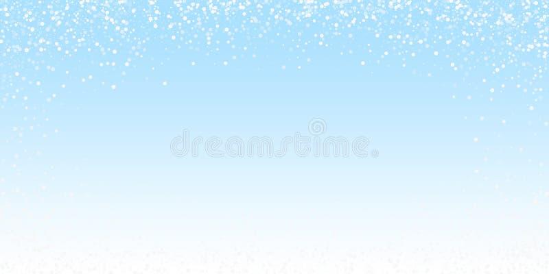 El blanco al azar puntea el fondo de la Navidad Mosca sutil libre illustration
