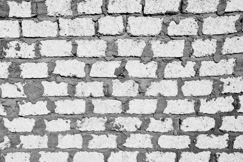 El blanco bloquea la pared imagenes de archivo