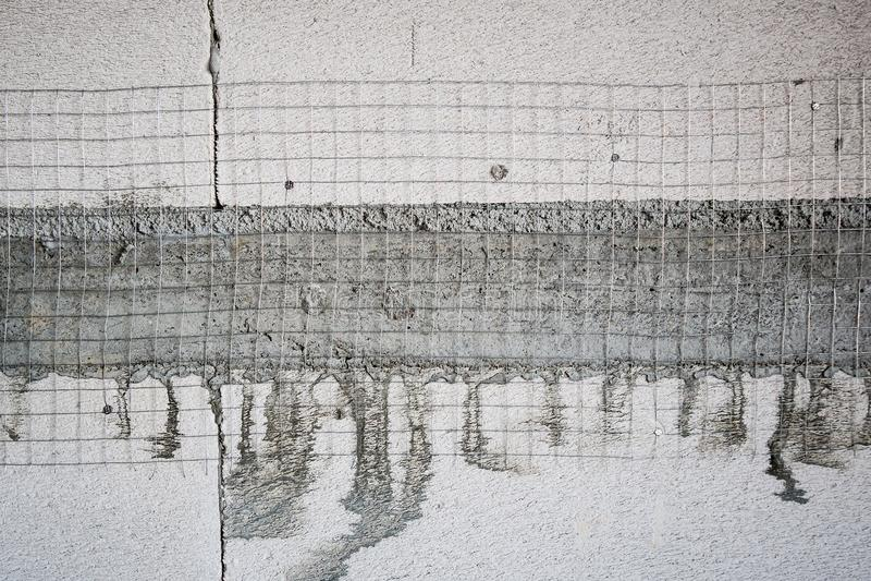 El blanco esterilizó el bloque de cemento ligero aireado imagen de archivo