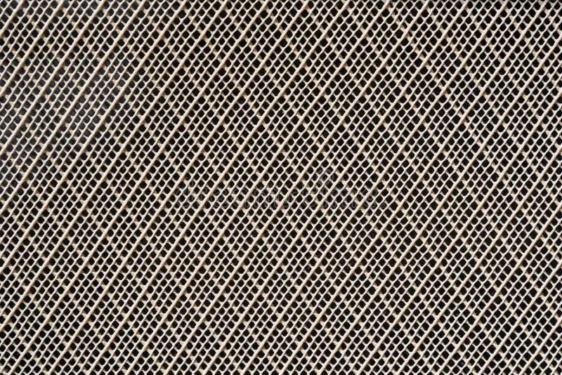 El blanco modeló textura plástica de la superficie del filtro fotos de archivo libres de regalías