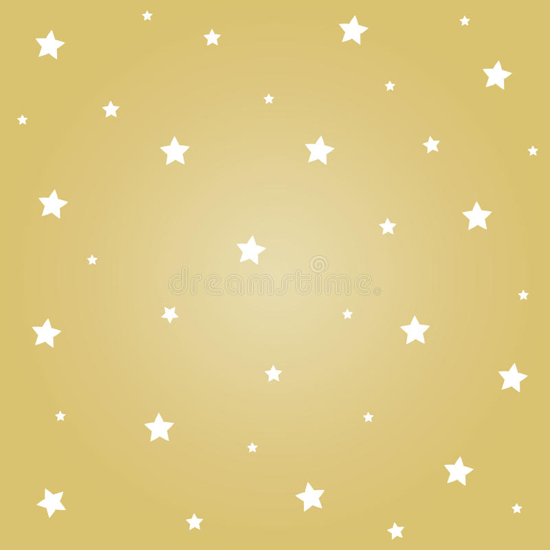 El blanco protagoniza con el fondo del oro para el festival de la Navidad libre illustration