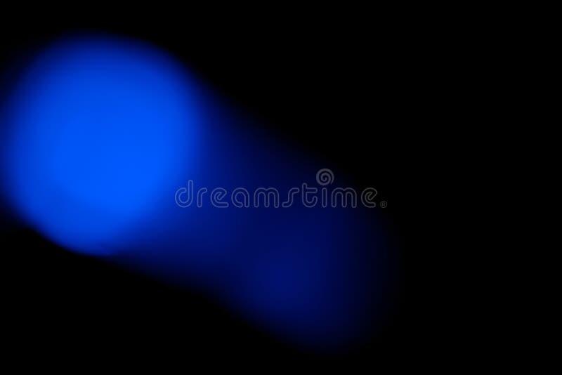 El bokeh azul enciende el fondo fotografía de archivo libre de regalías