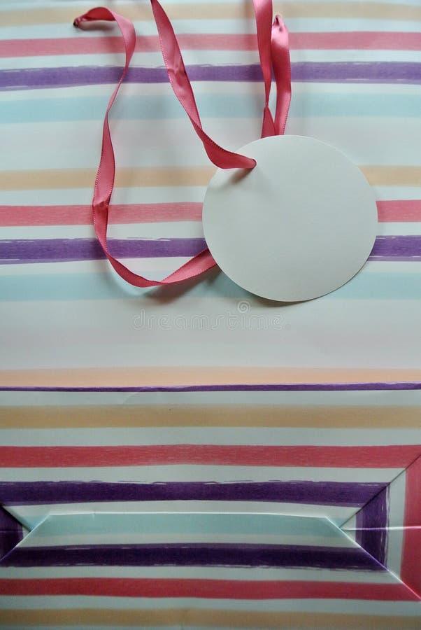El bolso del regalo imagen de archivo libre de regalías