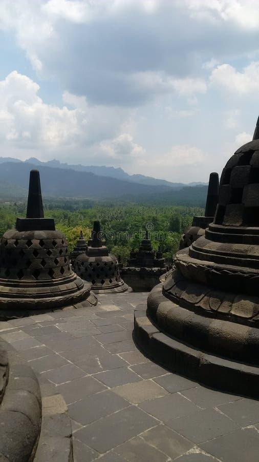El Borobudur foto de archivo