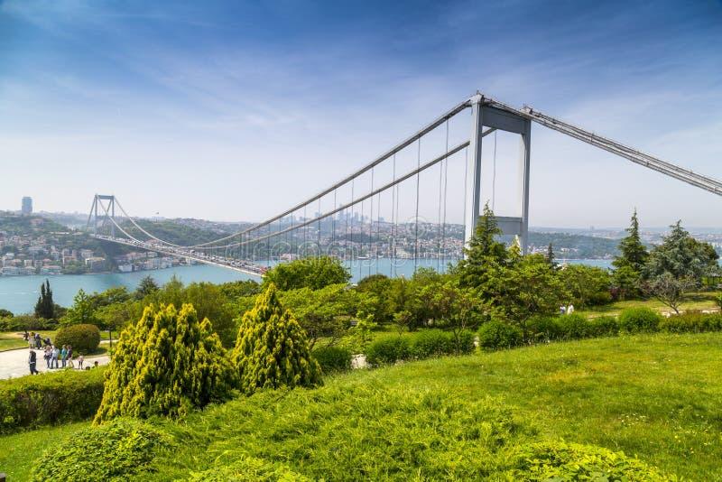 El Bosphorus, Estambul foto de archivo libre de regalías