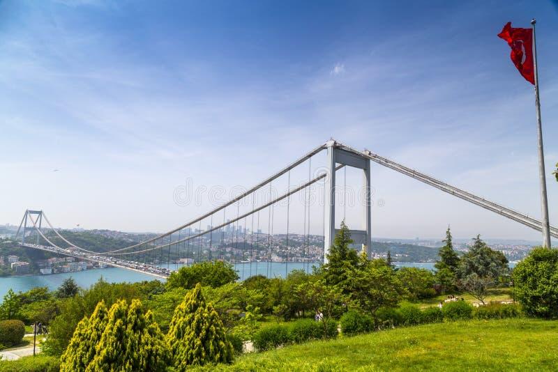 El Bosphorus, Estambul foto de archivo