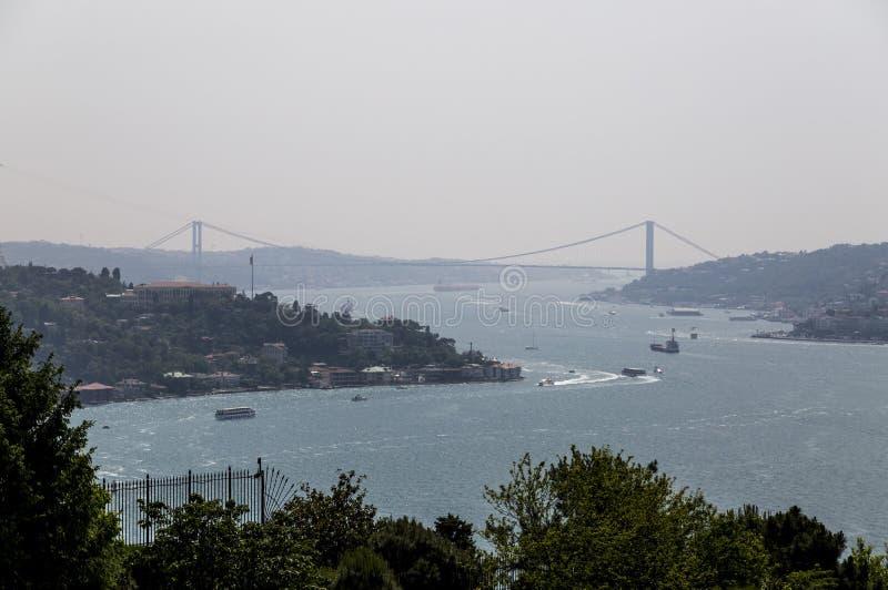 El Bosphorus, Estambul imagen de archivo