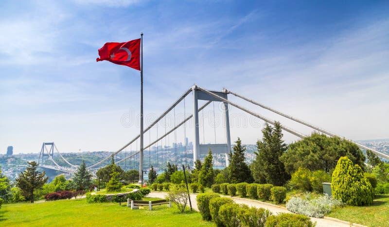 El Bosphorus, Estambul imagen de archivo libre de regalías