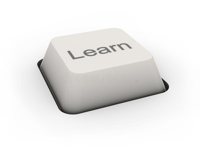 El botón aprende