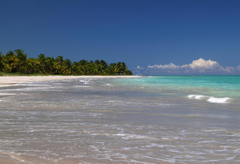 El Brasil, Alagoas, playa de Maceio imagenes de archivo