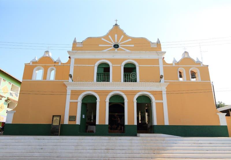 El Brasil, Santarem /Alter hace Chao: Iglesia católica histórica (1896) fotografía de archivo libre de regalías