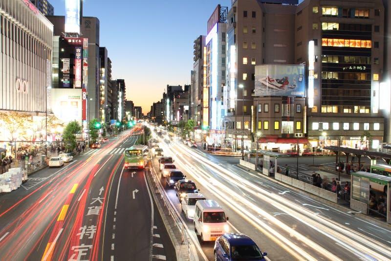 El brillo en KINSHITYO DE TOKIO imagen de archivo