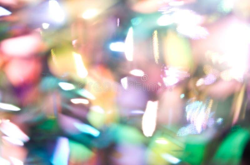 El brillo enciende el fondo defocused del bokeh fotos de archivo