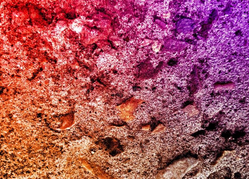 El brillo oscila textura Grado, difícilmente rocas del colourfull Backgroundsmall, pared foto de archivo