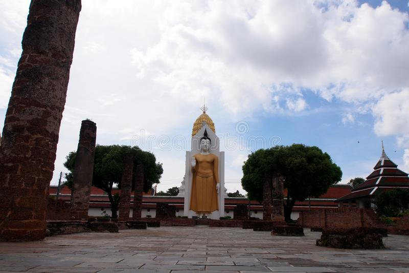 El Buda en Phisanulok, Tailandia imagen de archivo libre de regalías