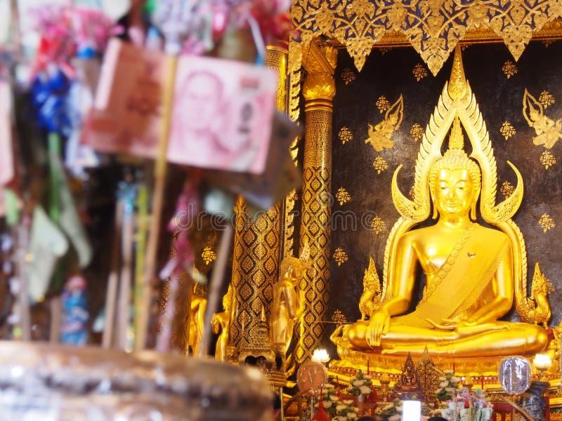 El Buda más hermoso de Phisanulok, Tailandia imagen de archivo