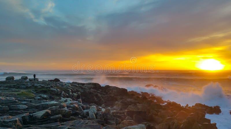 El buen camino para la playa del paraíso fotos de archivo libres de regalías