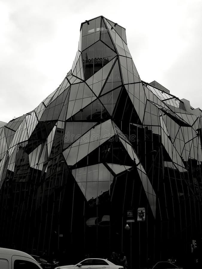 El bulding de cristal fotos de archivo