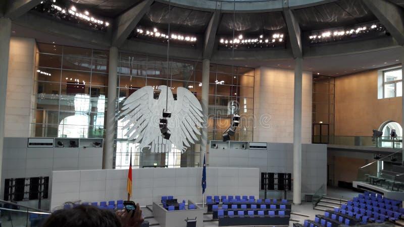 El Bundesadler imagen de archivo libre de regalías