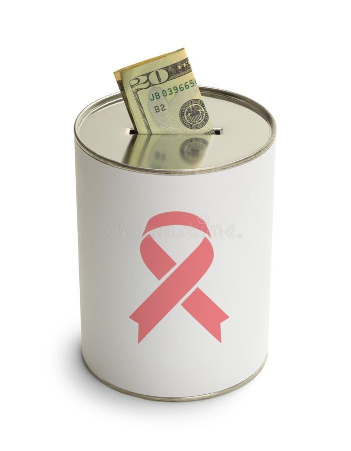 El cáncer de la curación puede fotos de archivo libres de regalías