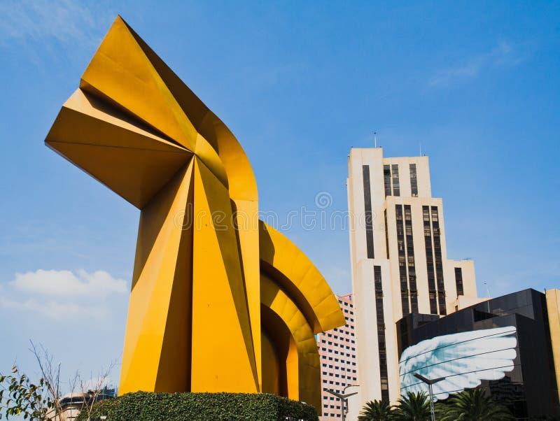 EL Caballito Ciudad de México foto de archivo