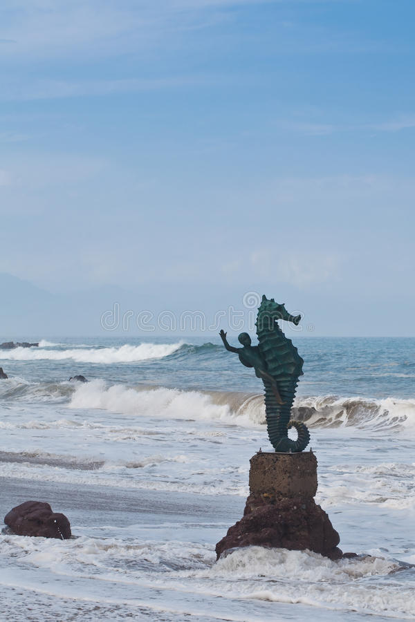 El Caballito de Puerto Vallarta royalty free stock photography