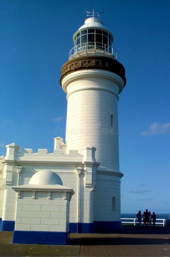 El cabo Byron Lighthouse imagen de archivo