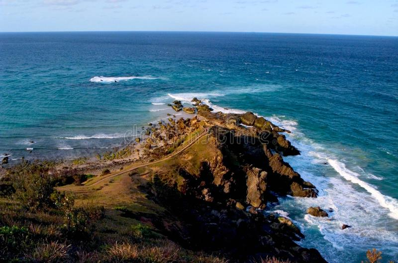 El cabo Byron, pascua la mayoría del punto de Australia fotografía de archivo libre de regalías