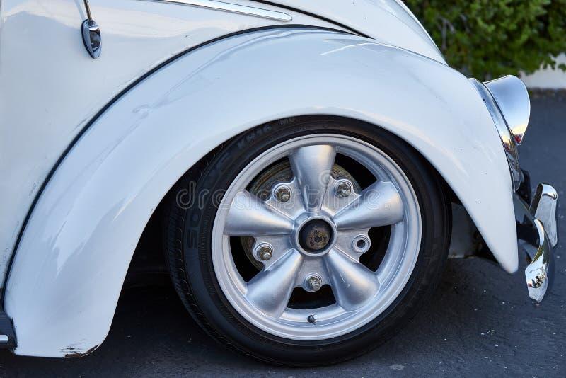 El Cajon, CA/USA - September 14, 2016: Cajon är klassisk kryssning en sydliga Kalifornien bilshow rymda veckoApril - Oktober royaltyfri bild