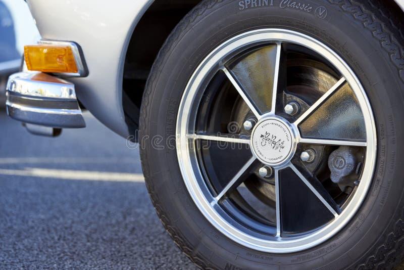 EL Cajon, CA/USA - 14 septembre 2016 : La croisière classique de Cajon est un hebdomadaire tenu par salon automobile de la Califo image libre de droits