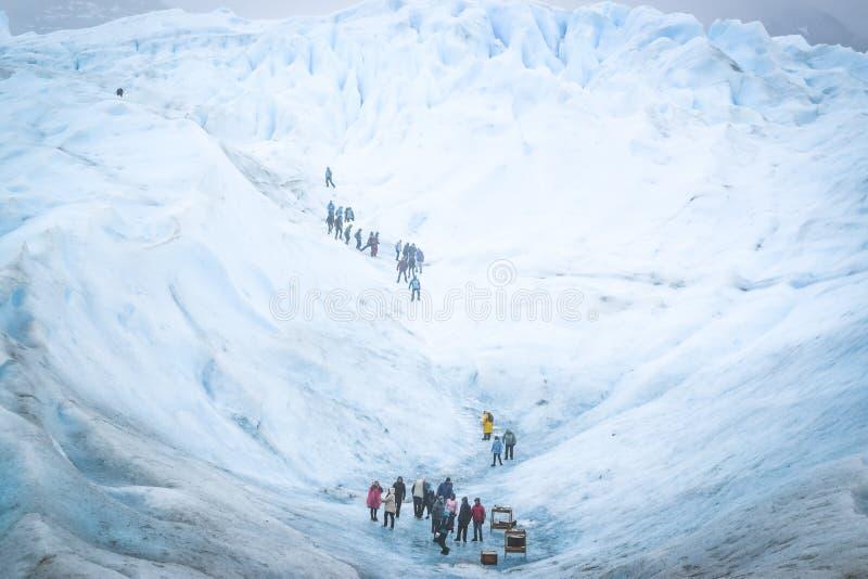 EL CALAFATE, АРГЕНТИНА: Ледник Perito Moreno, El Calafate, Аргентина 2015 стоковые изображения