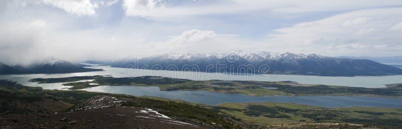 EL Calafate, parque nacional de geleiras, Patagonia, Argentina, Ámérica do Sul fotos de stock royalty free