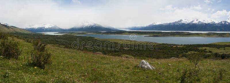 EL Calafate, parque nacional de geleiras, Patagonia, Argentina, Ámérica do Sul imagens de stock