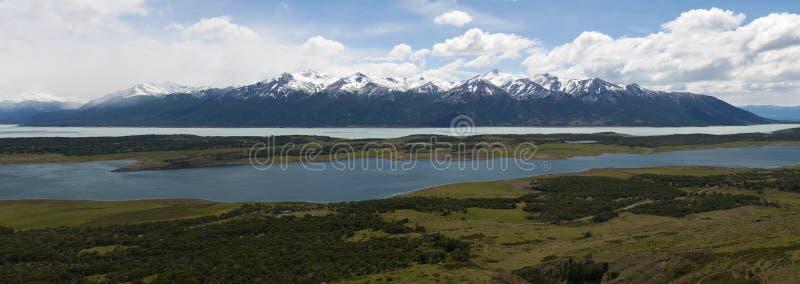 EL Calafate, parque nacional de geleiras, Patagonia, Argentina, Ámérica do Sul imagem de stock royalty free