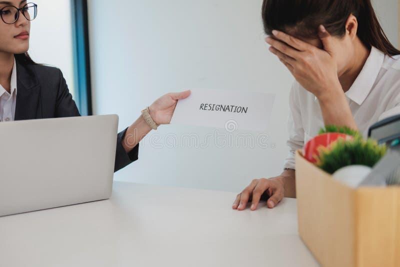 El cambio del negocio del trabajo, desempleo, dimitió concepto fotos de archivo