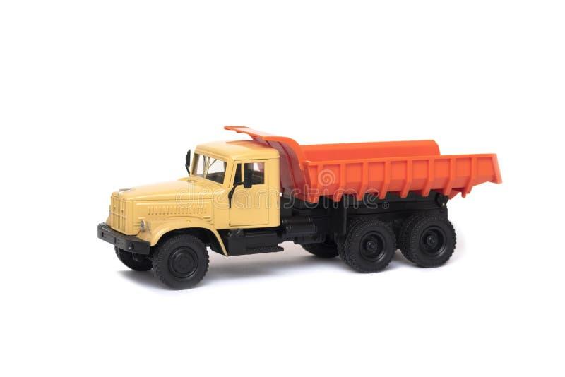 El camión pesado del juguete fotografía de archivo libre de regalías