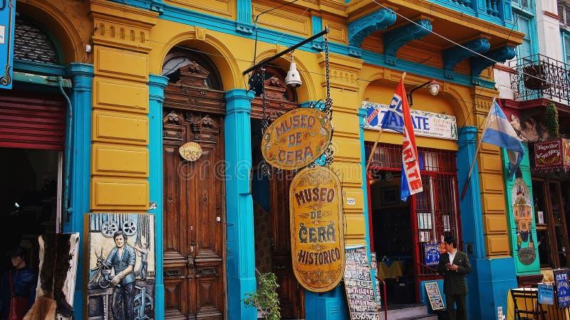 El Caminito, Buenos Aires stock photo