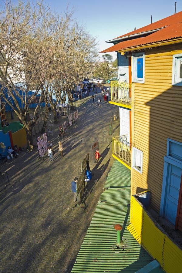 El Caminito famoso, en Buenos Aires imagenes de archivo