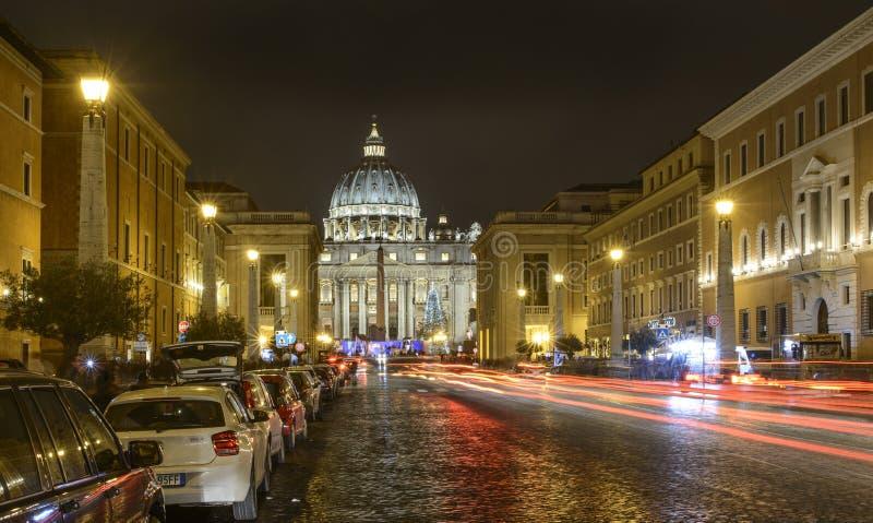 El camino de la conciliación Roma Italia Europa imágenes de archivo libres de regalías