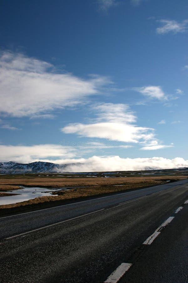 El Camino A En Ninguna Parte Imagen de archivo libre de regalías