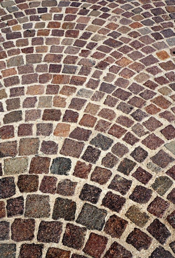 El camino presentado por las piedras imagen de archivo libre de regalías