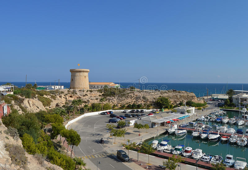 El Campello royalty free stock photography