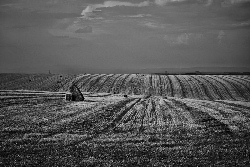 El campo de Moravian en el ¡de Hanà fotografía de archivo