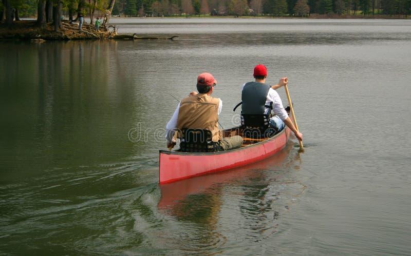El Canoeing imágenes de archivo libres de regalías