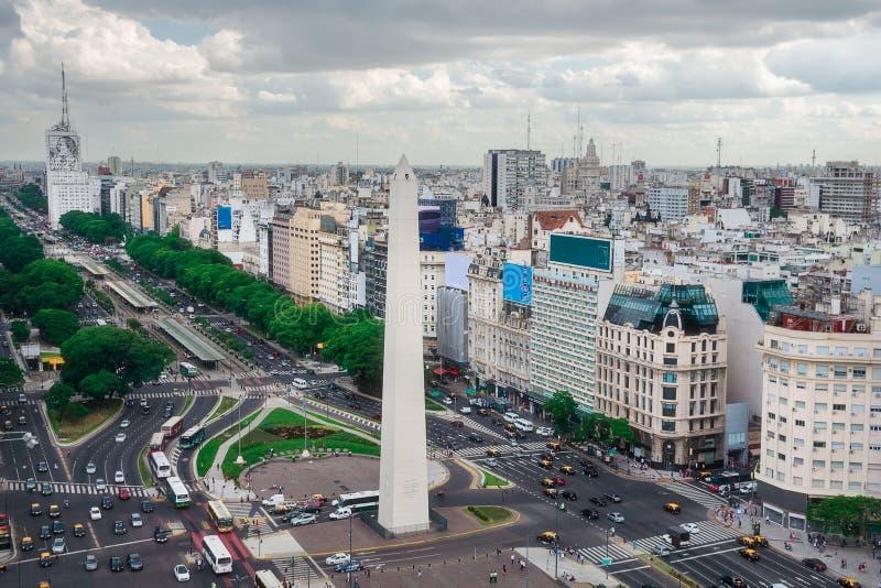 El capital de Buenos Aires en la Argentina foto de archivo