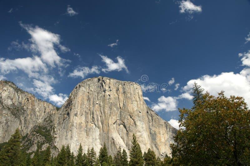 El Capitan峰顶,优胜美地国家公园,内华达山,加利福尼亚,美国 库存照片