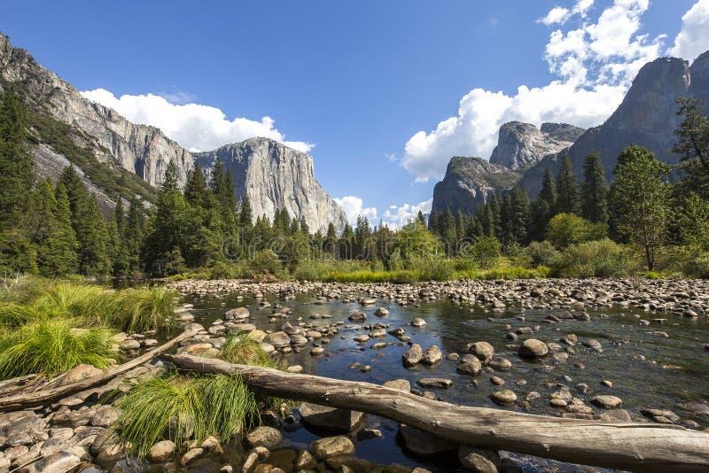 El Capitan,优胜美地国家公园,加利福尼亚,美国 免版税图库摄影